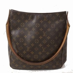 Auth Louis Vuitton Looping Gm Shoulder #1505L19